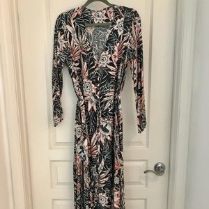 H&M Long Floral Dress